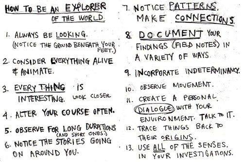 how to become an explorer